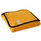 COBRA Gold Plush Microfiber Towel - żółta 40x60cm