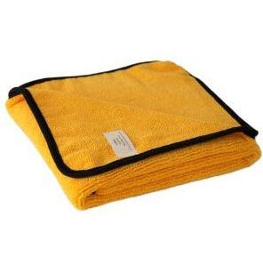 COBRA Gold Plush Microfiber Towel - żółta 40x40cm