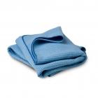 Flexipads Ręcznik do osuszania 75x60cm niebieski waflowy (40525)