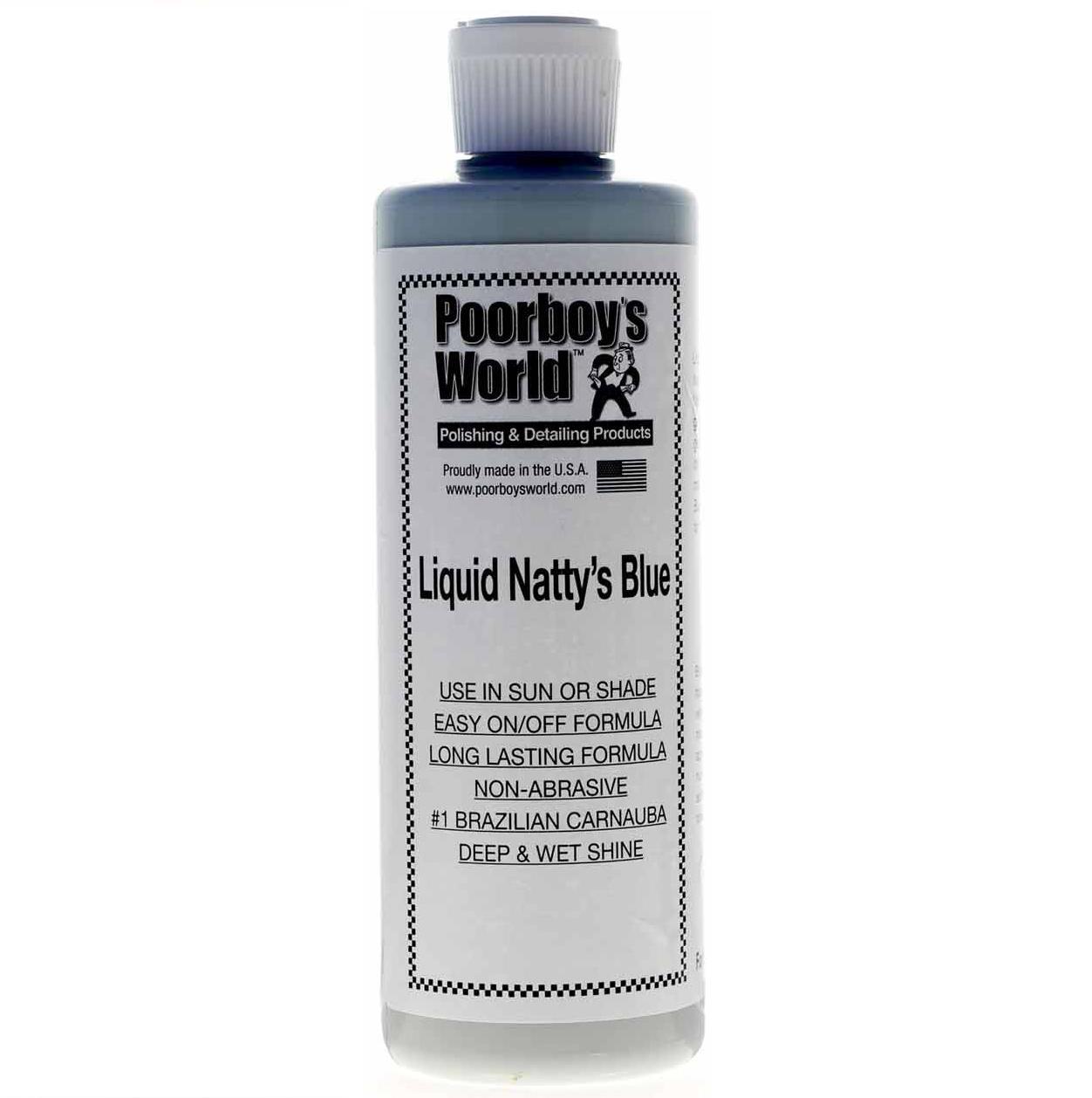 Poorboy's World Liquid Nattys Blue Wax 118ml
