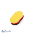 Flexipads  Aplikator 3-kolorowy dwustronny (40800)