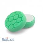 Flexipads 100mm Hex Logic - Zielona Średnio Twarda (HL 440)