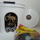 Shiny Garage Wiadro zestaw - naklejki Wash