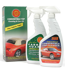 303 Products Convertible Top Cleaning & Care KIT FABRIC