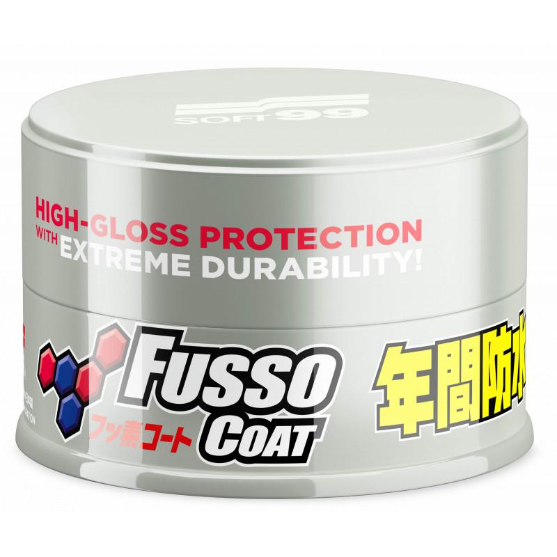 SOFT99 NEW Fusso Coat 12 Months Wax - powłoka - jasne lakiery 200g - NOWA EDYCJA