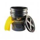 Meguiar's Professional Wash Bucket Combo Black - super wiadro z przykrywką i separatorem