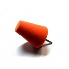 Stożek polerski 80mm średni - pomarańczowy