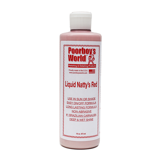 Poorboy's World Liquid Natty's Red Wax 118ml