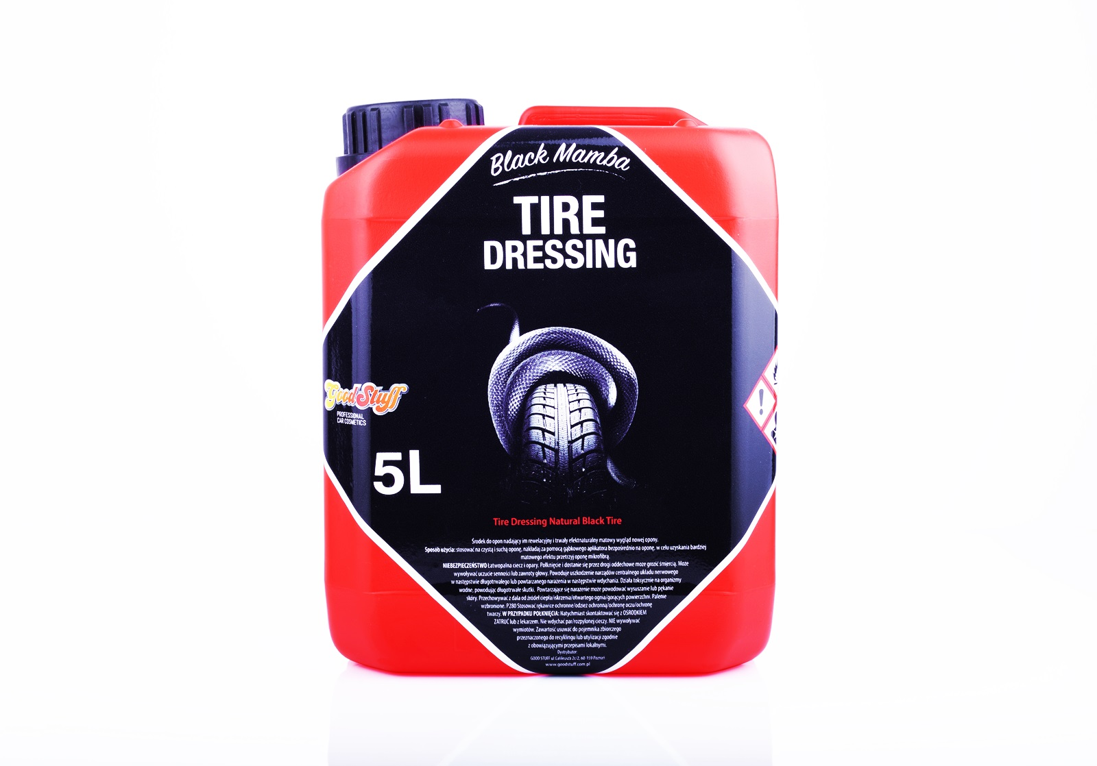 Good Stuff Tire Dressing Black Mamba 5L