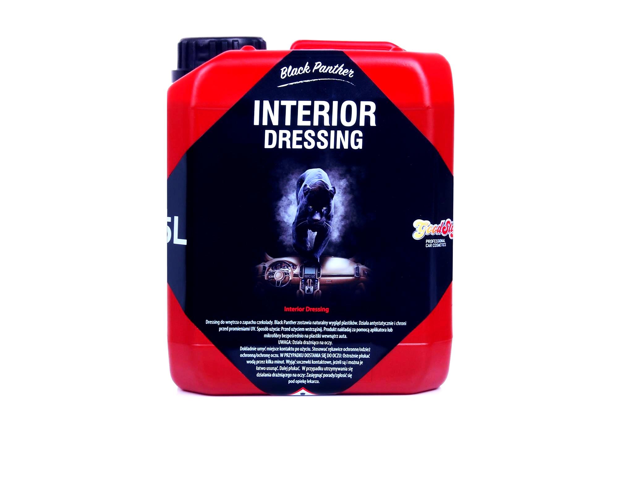 Good Stuff Black Panther Interior Dressing 5l