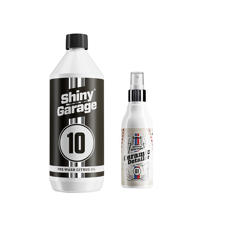 Shiny Garage Pre-Wash Citrus Oil 1L + ICY Ceramic Detailer 150ml GRATIS