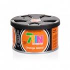 7TIN Zapach samochodowy Orange Island - pomarańczowy