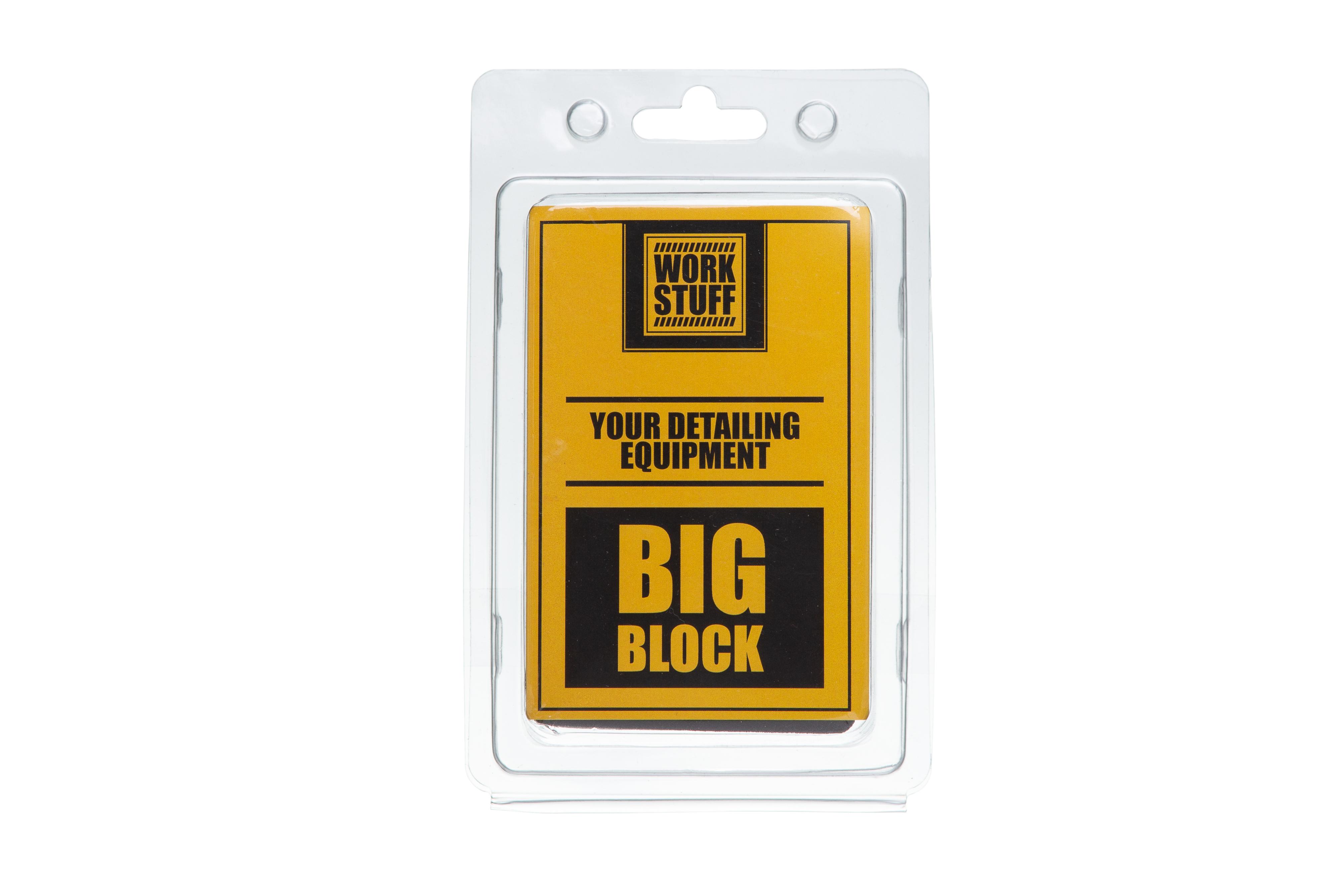 Work Stuff Big Block – pad z polimerem do glinkowania lakieru