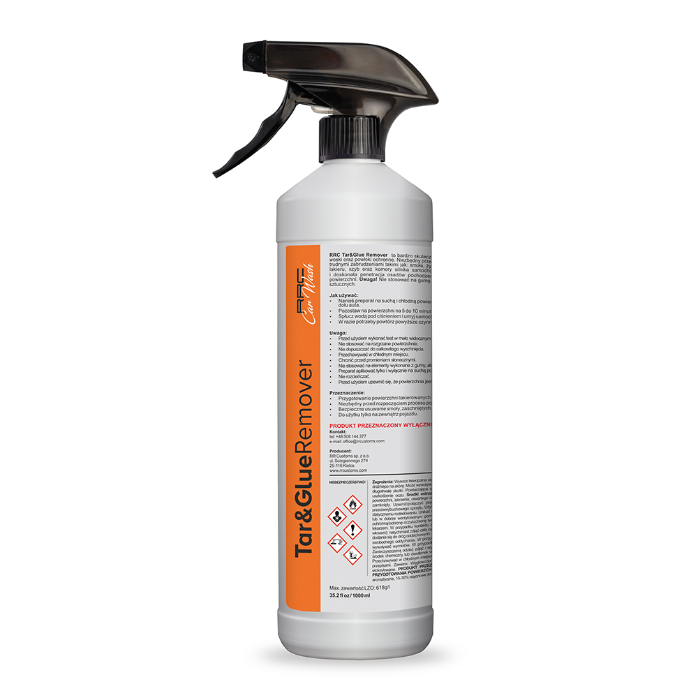 RRC Car Wash Tar and Glue Remover 1L