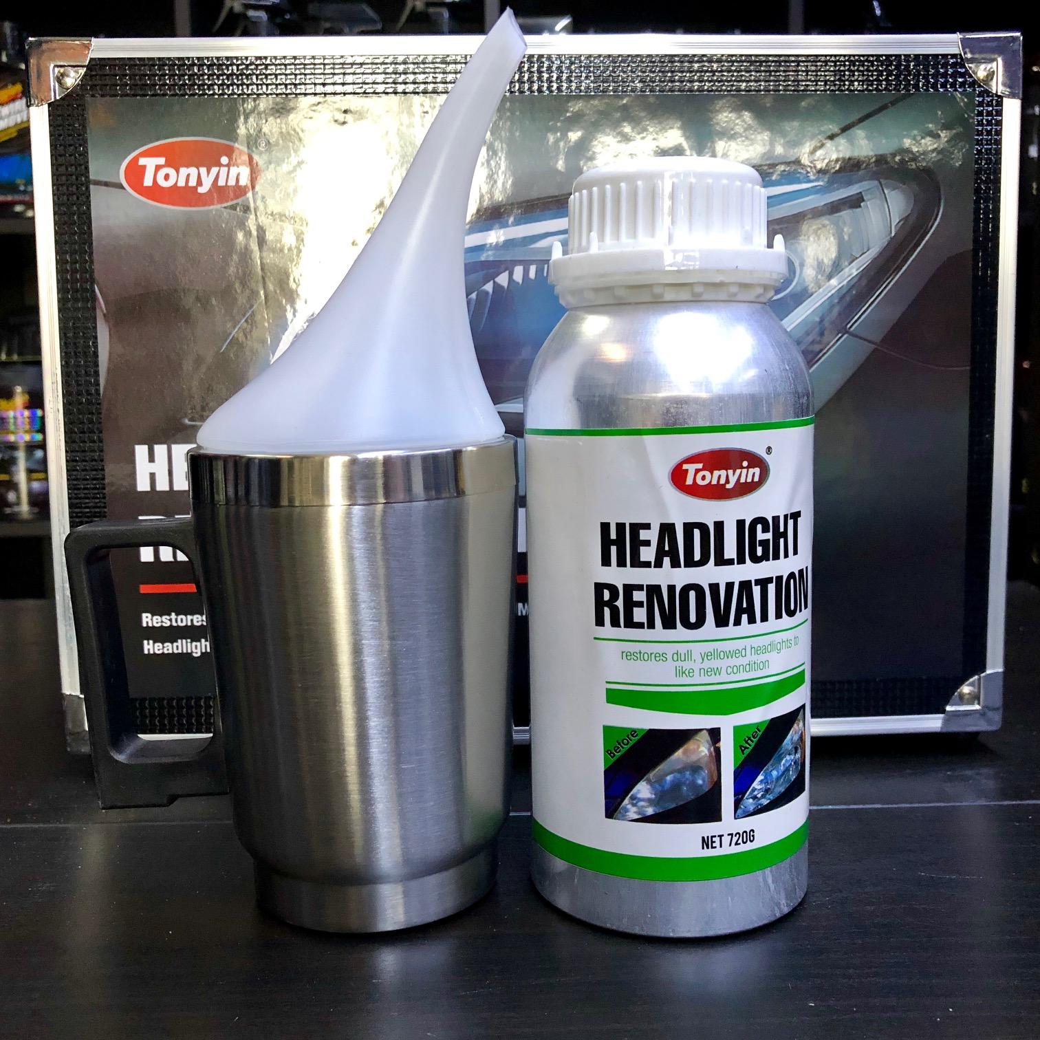 Tonyin Headlight Renovation Kit