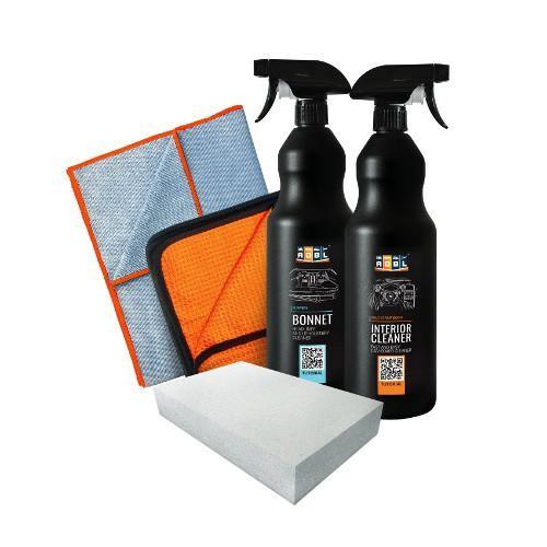 ADBL Bonnet 1L+ ADBL Interior Cleaner 1L + akcesoria