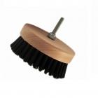 Auto Na Blask Carpet Brush Hard 95mm okrągła szczotka na wiertarkę - czarna twarda