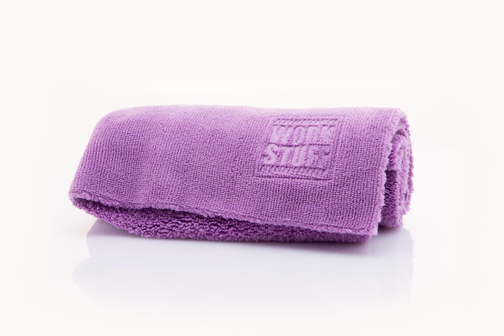 Work Stuff Basic Purple - delikatna mikrofibra