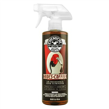 Chemical Guys Rides and Coffee Air Freshener - zapach świeżo parzonej kawy 473ml