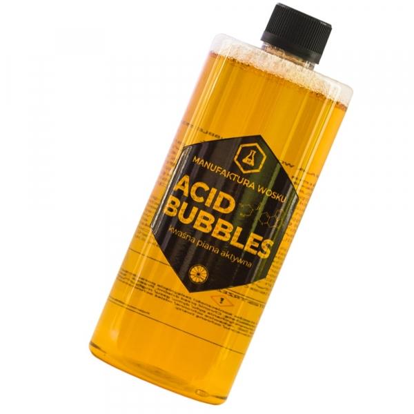 Manufaktura Wosku Acid Bubbles 1l – piana aktywna o kwasowym odczynie