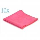 Professional Microfibre Standard Pink 360gsm 40x40cm (10 sztuk)