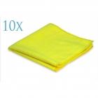 Professional Microfibre Standard Yellow 360gsm 40x40cm (10 sztuk)