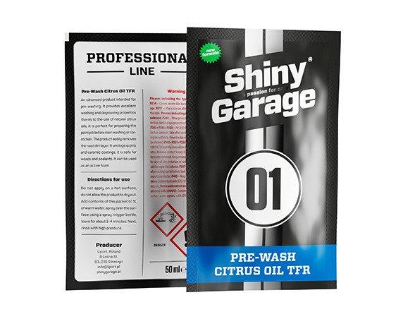 Shiny Garage Pre-Wash Citrus Oil TFR 50ml - do mycia wstępnego